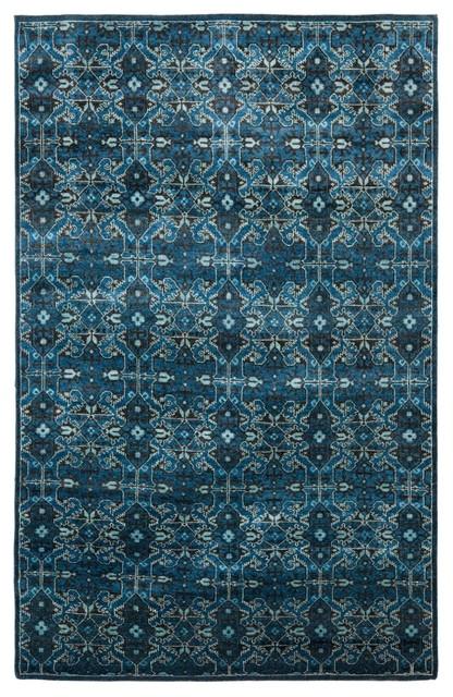 Ralph Lauren Sheldon Cape Blue Traditional Rugs