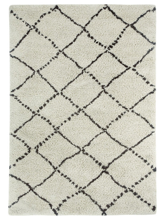 Tangier rug in Diamond - Fashionable Moroccan patterns provide plenty of North African Tribal style at an incredible value price point.