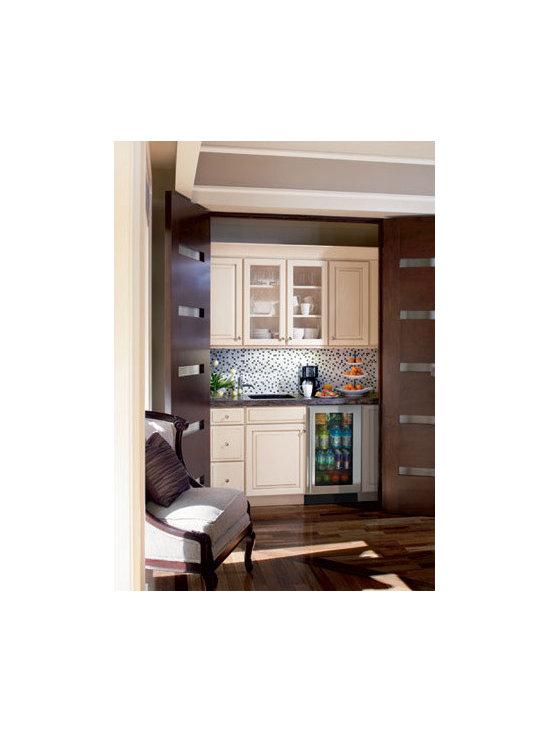 U-Line - U-Line 3018RGL Glass-Door Refrigerator - Glass Door Refrigerators - 3018RGL