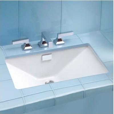 Lloyd ADA pliant Undermount Sink Modern Bathroom