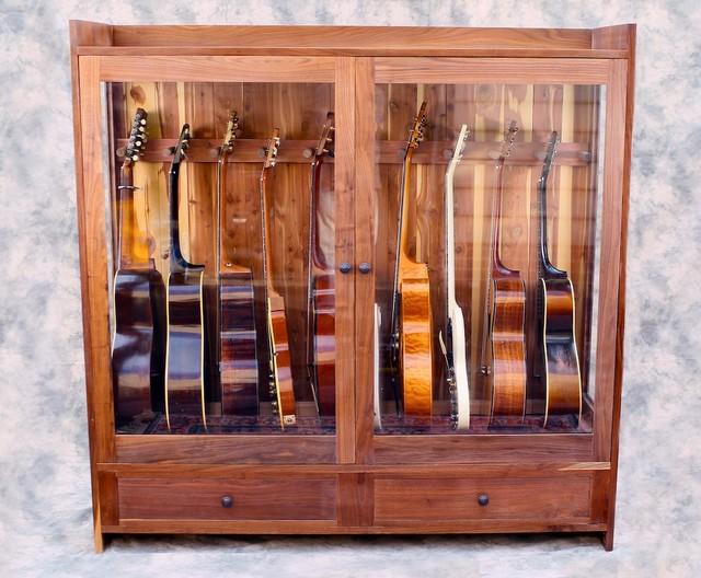 Guitar Habitat, large - Craftsman - philadelphia - by American Music Furniture Company, LLC