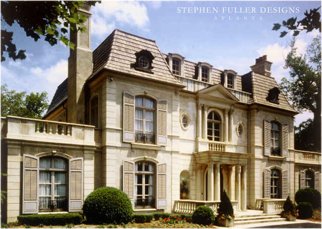 A French Neoclassical House In Atlanta