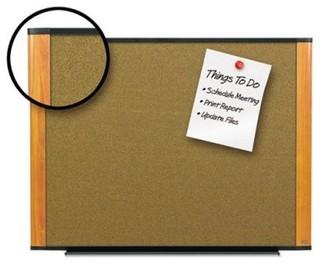 3m 48 x 36 in cork bulletin board modern bulletin for Modern cork board