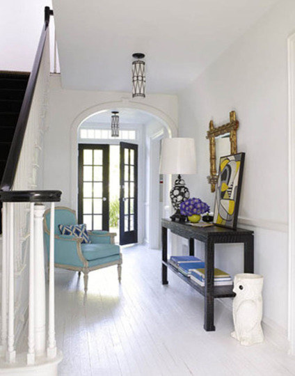 Neat & Beautiful Entryways Organization Inspiration eclectic