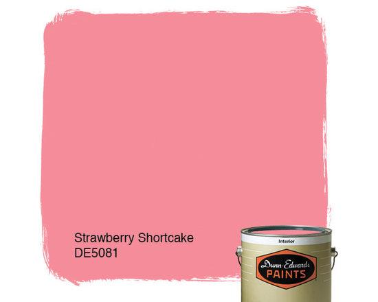 Dunn-Edwards Paints Stawberry Shortcake DE5081 -
