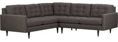 modern sectional sofas by Crate&Barrel
