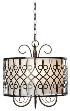 Pacific Coast Lighting Kathy Ireland Essentials Estilo Clasico Pendant Light modern-pendant-lighting