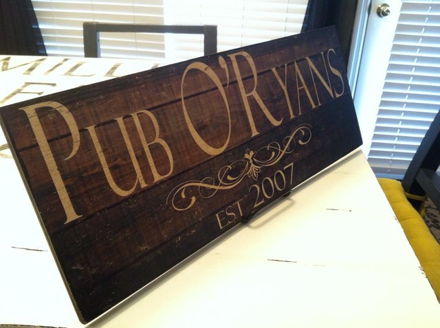 Custom Wooden Signs and Typography craftsman-decorative-accents