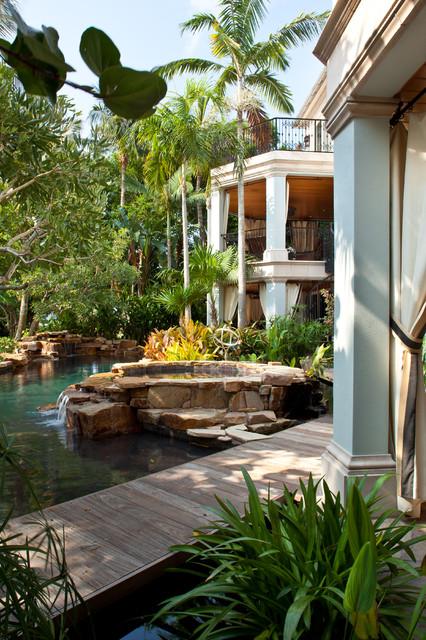 Gordon Dr tropical-pool