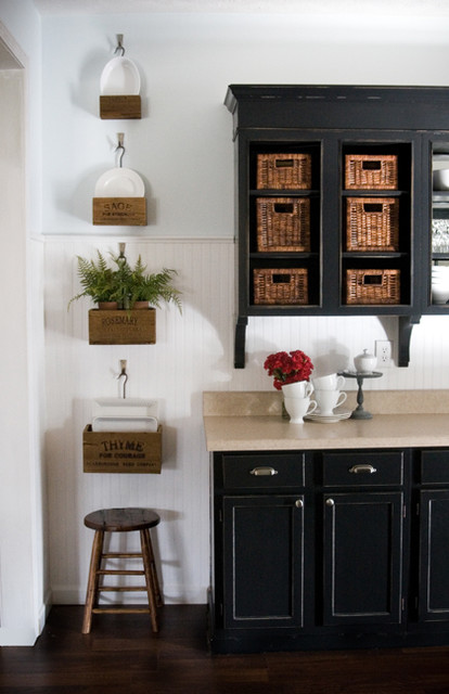 Lettered Cottage kitchen traditional