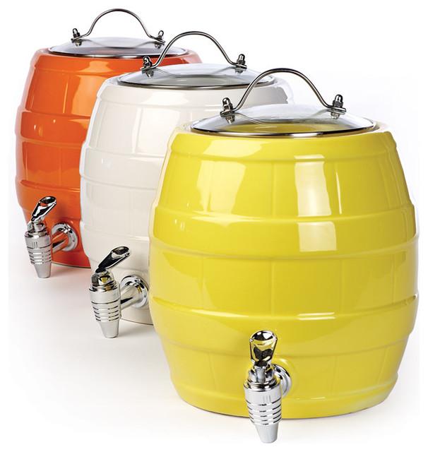 Barrel Beverage Dispenser