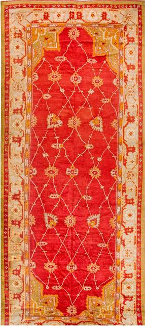Antique Turkish Oushak Carpets modern-carpet-tiles