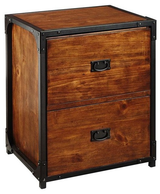 Industrial Empire File Cabinet - Traditional - Filing Cabinets - by Home Decorators Collection
