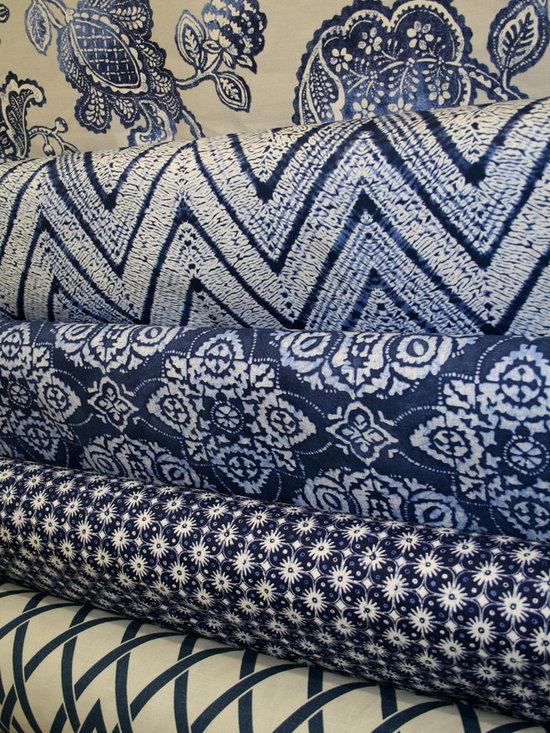 Blue Fabrics -