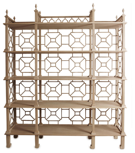 laurent outdoor etagere asian patio furniture and. Black Bedroom Furniture Sets. Home Design Ideas