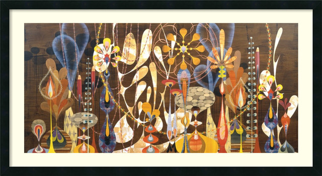 Megalaria Framed Print by Rex Ray traditional-prints-and-posters