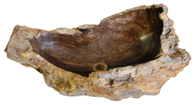 Petrified Wood Sink Natural stone sink - petrified