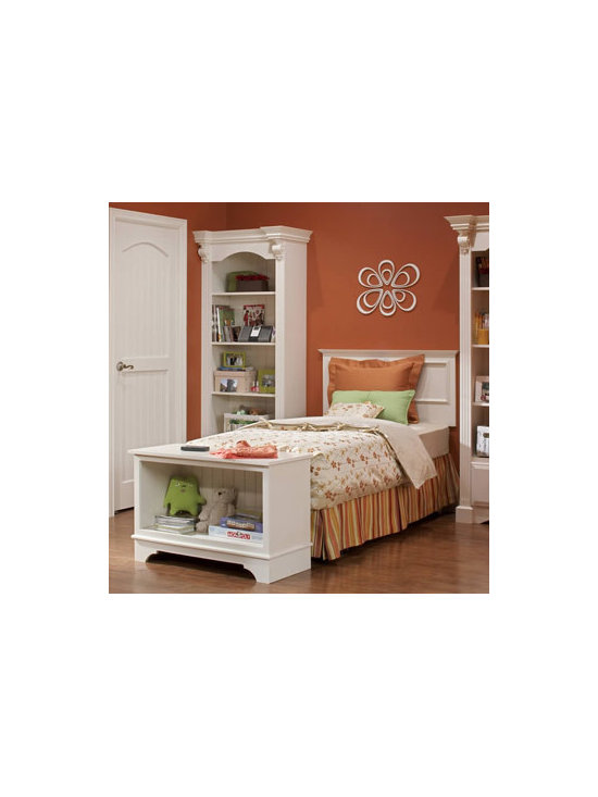 Removed Canopy - A canopy can give a bed a storybook look. But removing the canopy can actually make the bedroom seem more airy, open and spacious.