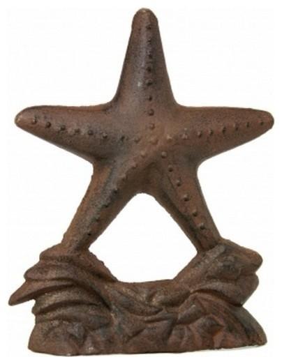 Rustic Cast Iron Starfish Door Stop 11 39 39 Vintage