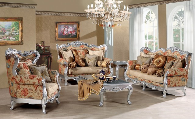 Fleur De France Luxury Living Room Sofa Set Victorian Living Room Furnitu