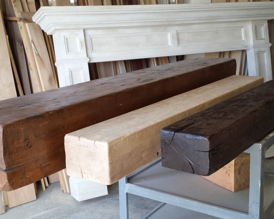 Distressed Beam Mantels Any Size - Custom distressed beam mantels by TheMantelGuy.com   Torrance ,CA 310 328 3021