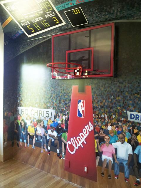 Basketball Mural in Boy's Dream Bedroom - Asian - Bedroom - los ...