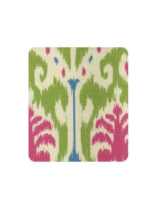 Caftan Fabric, Kiwi B -
