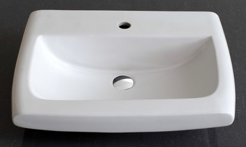 Roma - Ceramic Basin modern-toilet-accessories