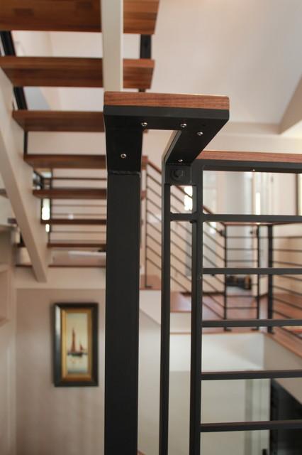 modern craftsman renovation transitional-kitchen
