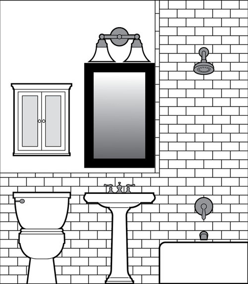 Looking for an easy tile drawing software program for Bathroom designs drawing
