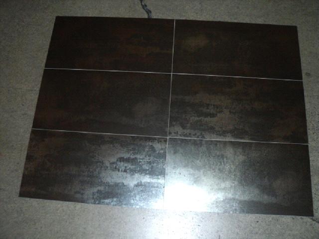 Metallic Black Porcelain Wall And Floor Tile Toronto