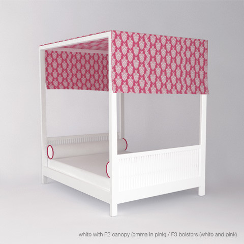 ducduc cabana canopy bed (twin size) modern kids products