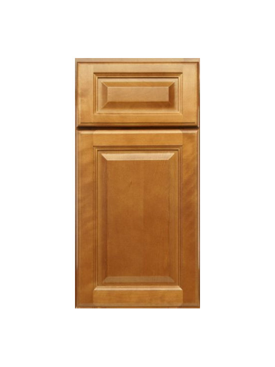"SPICE MAPLE / Assembled Kitchen Cabinets - Full Overlay Door Style - 3/4"" Solid Maple Face-Frame"
