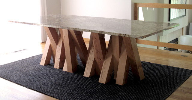 X table contemporary dining tables