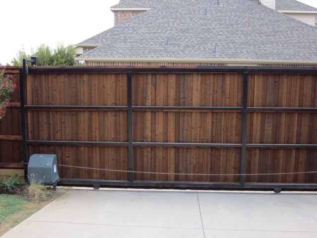 Automatic Sliding Gate Hardware Dallas By Texas Best Fence