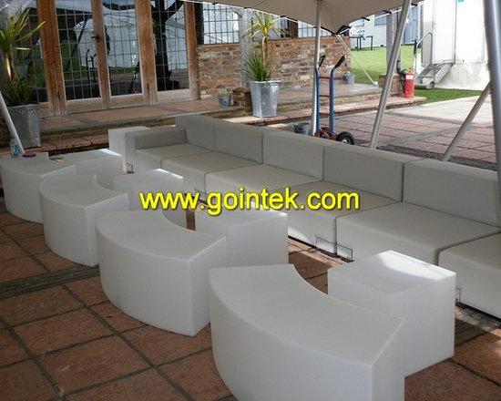 light up Led bench Stool Seating -