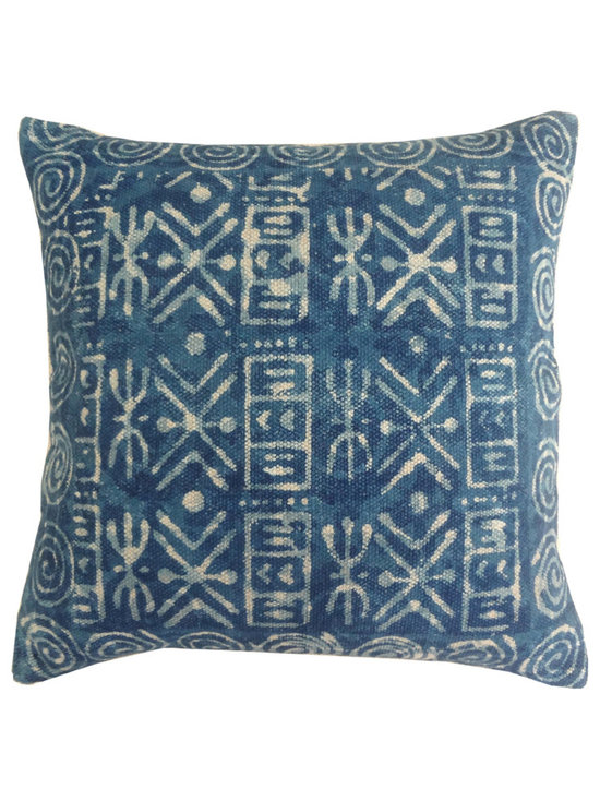 Jaipur - Dabu Pillow Set of 2 - Funky range of pillows in poly dupione use rich jewel tones expressed in a highly textural and fun way. Perfect for a touch of retro glamour in your home.