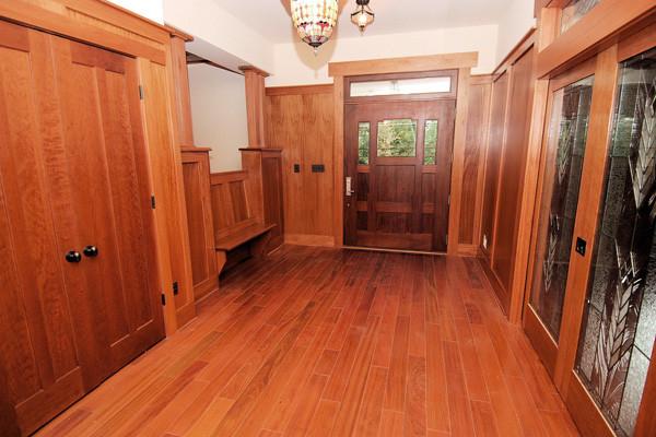 Brazilian Cherry Flooring Prefinished 3 4 X 5 Clear Grade Craftsman Entry Dc Metro
