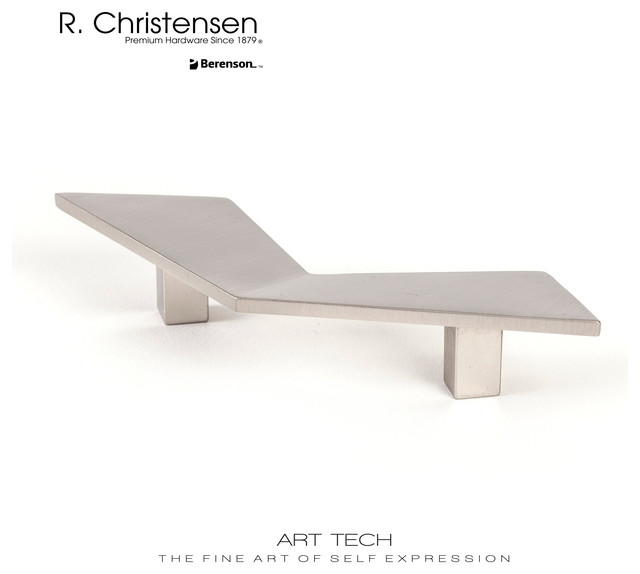 4125-1BPN-C Modern Style Architectural Cabinet Pull by R.Christensen contemporary-cabinet-and-drawer-handle-pulls