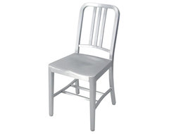Emeco Navy Chair ( 1006 Chair) modern dining chairs and benches