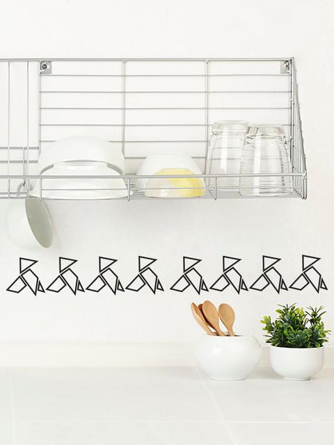 Cenefas adhesivas de vinilo para la cocina pajaritas - Vinilos para la cocina ...