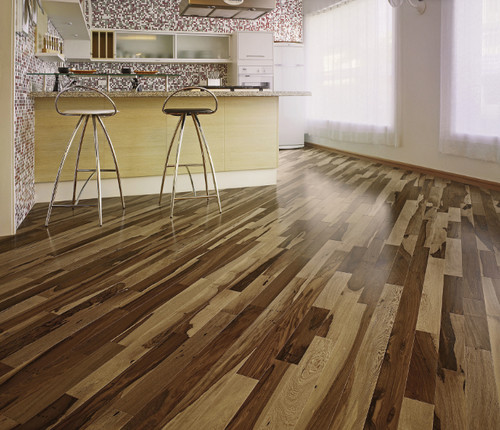 Indusparquet Brazilian Pecan Is A Very Unique Hardwood
