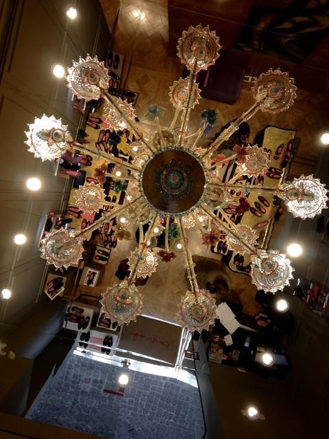 Topdomus Murano Ca Rezzonico chandelier traditional-chandeliers