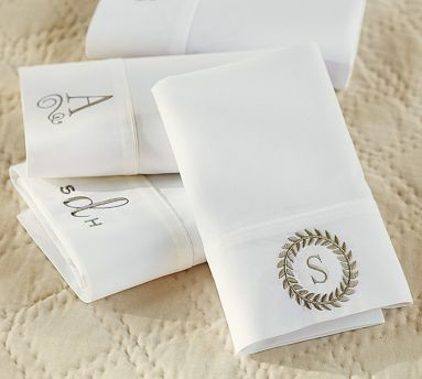PB Classic 400-Thread-Count Sheet Set, Extra-Long Twin, White traditional-sheets
