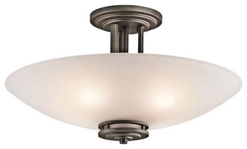 Hendrik Semi-Flushmount No. 3677 contemporary-ceiling-lighting
