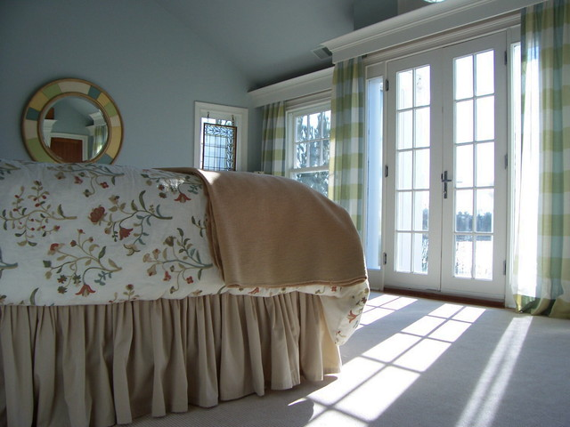 Waterfront Master Bedroom traditional bedroom