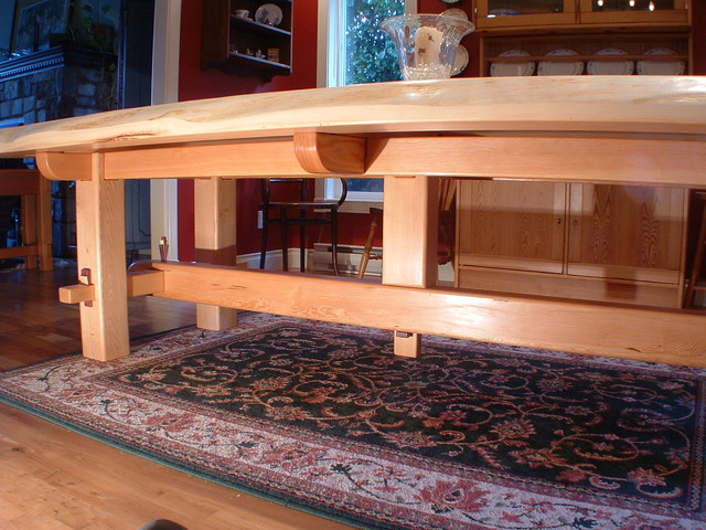 Craftsman Timber Frame Furniture asian-dining-tables