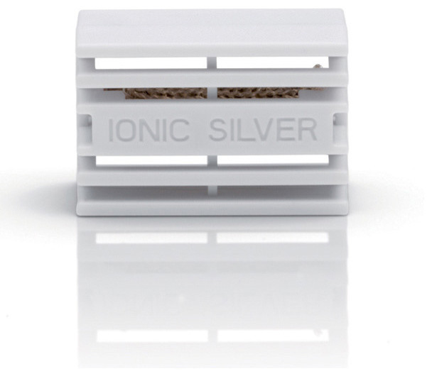 Stadler Form (Swizz Style) - Ionic Silver Cube, 1 PACK OF 2 modern-bathroom-accessories