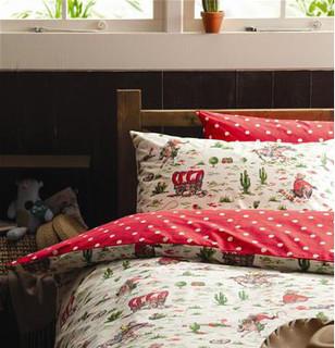 Reversible Duvet Set Spot/Cowboy - Modern - Kids Bedding - by Cath Kidston