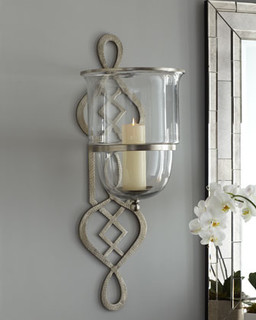 living room candle sconces